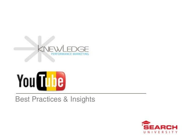 Best Practices & Insights