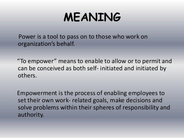 Amazing ... Empowered Employee; 4.