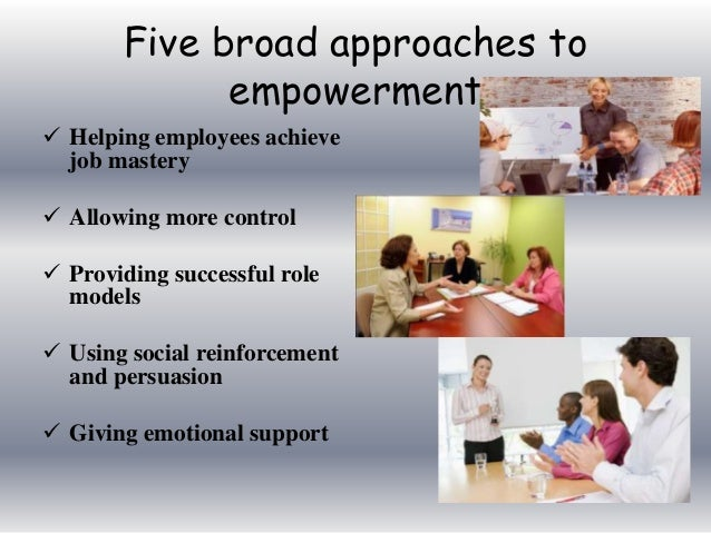 empowerment approach Report no 40 gender and empowerment: definitions, approaches and implications for policy briefing prepared for the swedish international.
