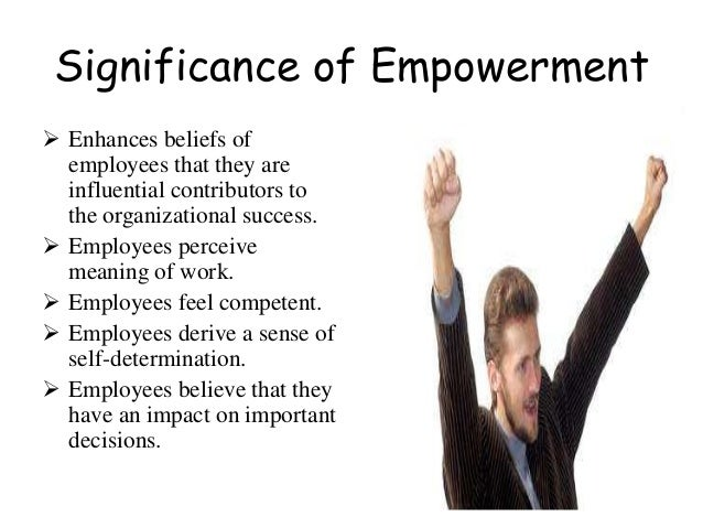 ... Corporation; 9. Significance Of Empowerment ...
