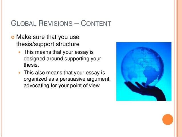 dissertation section order