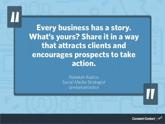 Every business has a story. What's yours? Share it in a way that attracts clients and encourages prospects to take action....