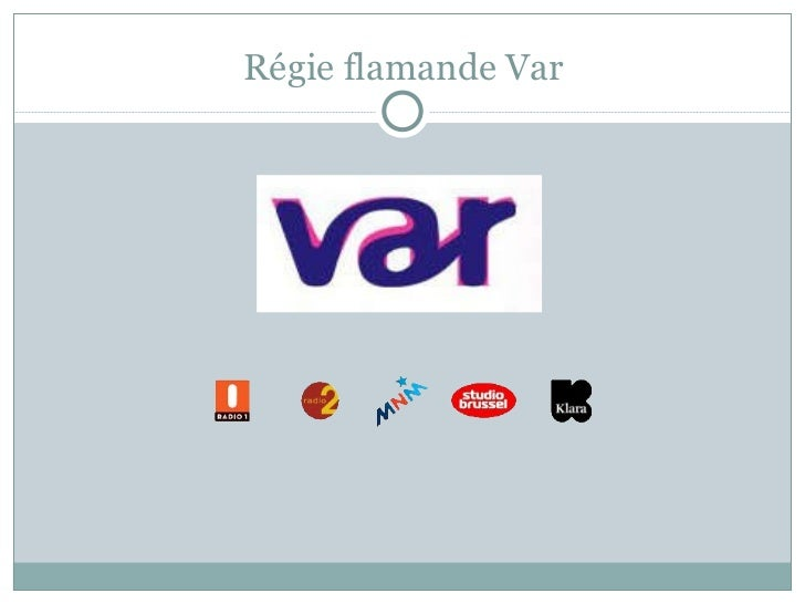 Régie flamande Var