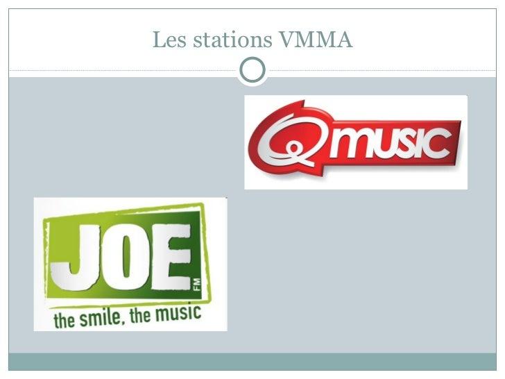 Les stations VMMA