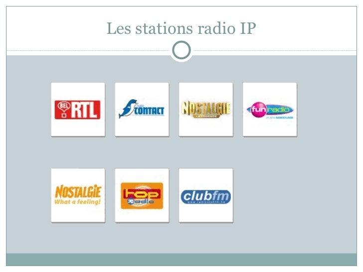 Les stations radio IP