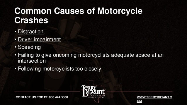 Motorcycle Accidents in Texas