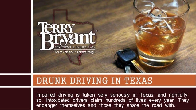 Impaired driving is taken very seriously in Texas, and rightfully so. Intoxicated drivers claim hundreds of lives every ye...