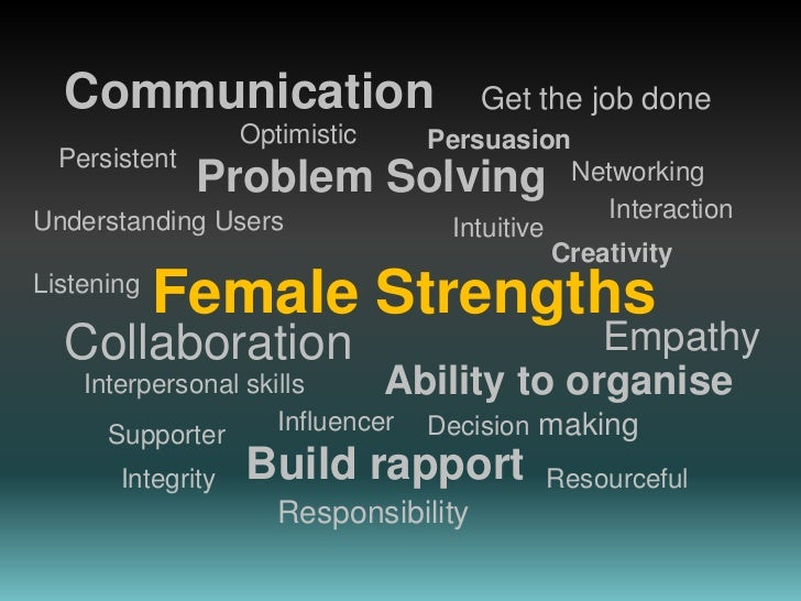 Female Strengths in business Analysis<br />What does A BA role look like today? Understanding the business and technical e...