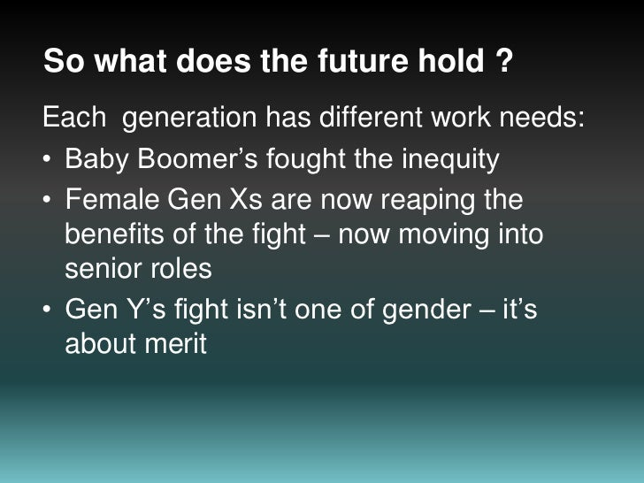 The Gender Question In ICT<br />75% of IT roles filled by males<br />Females higher in middle management<br />Gap is closi...