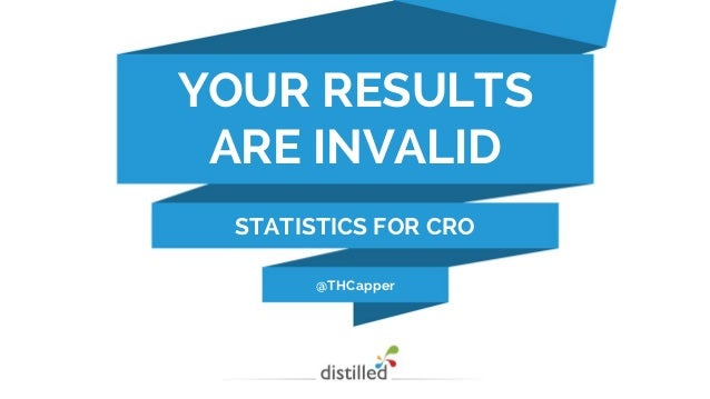 @THCapper YOUR RESULTS ARE INVALID STATISTICS FOR CRO