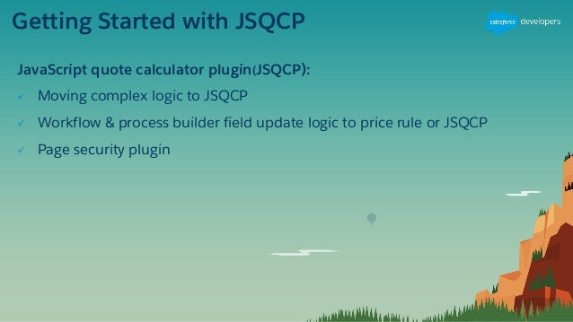 Migrating CPQ to Advanced Calculator and JSQCP