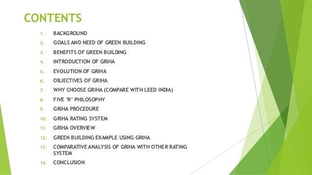 GRIHA RATING SYSTEM Slide 2