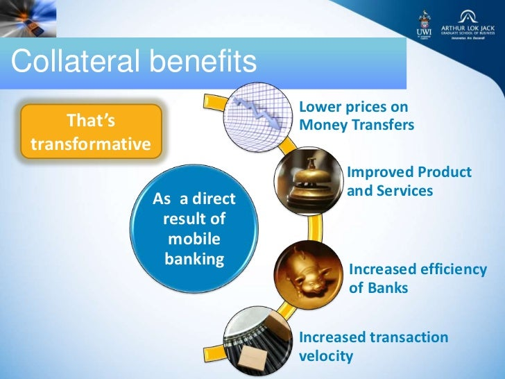 Collateral benefits                                Lower prices on     That's                     Money Transfers transfor...