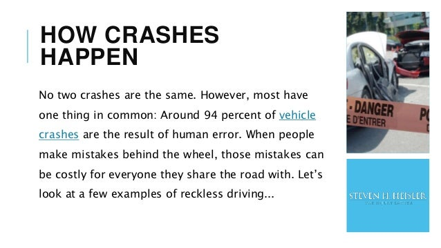 Vehicle Accidents in Maryland Slide 3