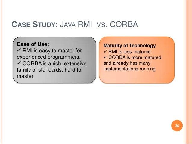 case study java rmi ppt