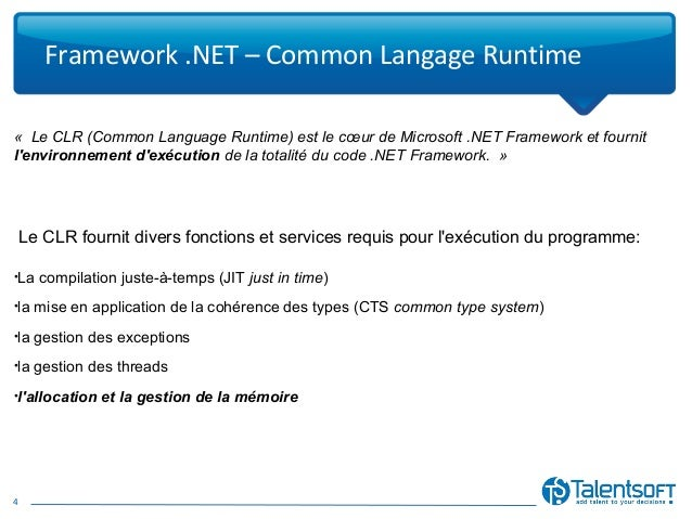 Net framework and common language runtime essay