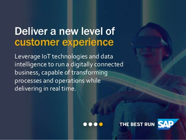 Inspired by Adidas How intelligent technologies can transform your supply chain.