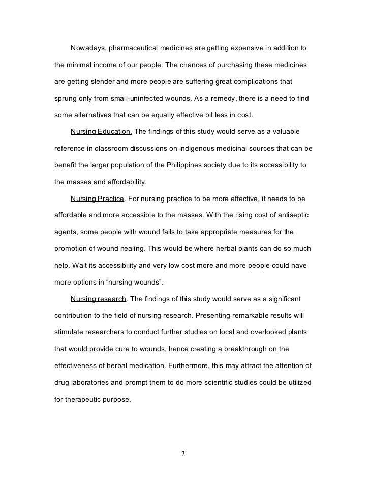 lagundi leaves research paper