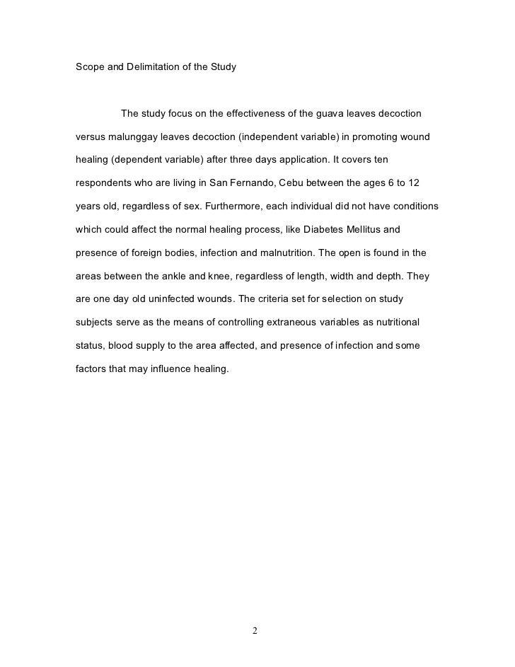 malunggay soap thesis