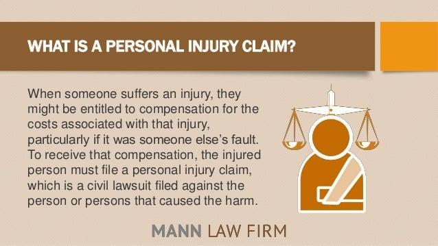 Personal Injury 101 Slide 2