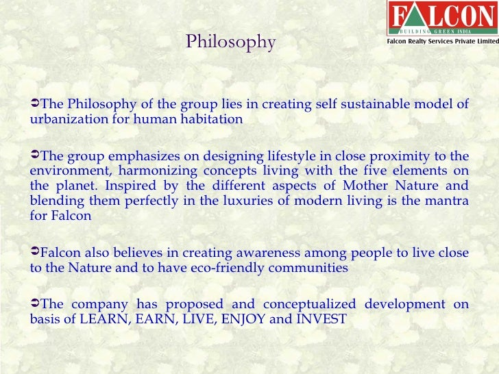 Falcon realty, Global eco city the new age Green city