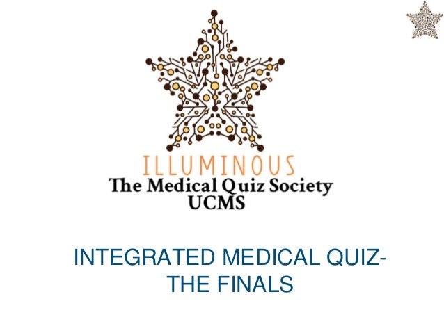 UCMS:Final Integrated medical quiz 2018