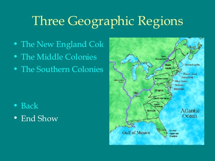 compare and contrast the northern southern and mid atlantic colonies The colonists - what they created and one of the most unusual of all the colonies - georgia to compare and contrast the political southern colonies.