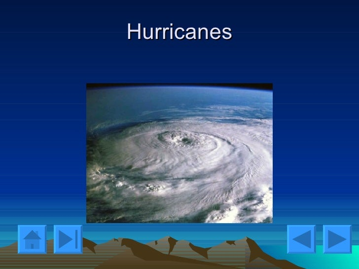The patterns and conditions under which hurricanes develop