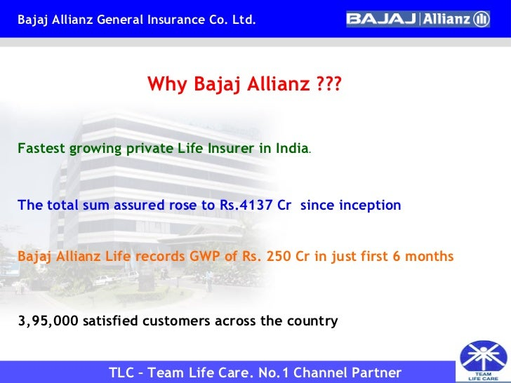 swot analysis of bajaj allianz life insurance Agenda about insurance industry swot analysis efe matrix  analysis of insurance sector with the special reference to bajaj allianz life insurance co by.