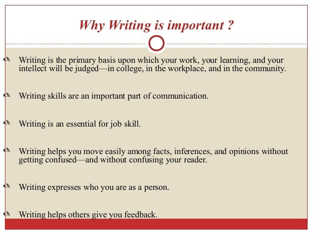 how to develop writing skills in students