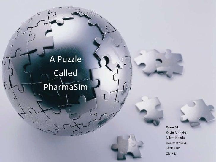 Pharmasim report