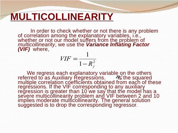 MULTICOLLINEARITY IN ECONOMETRICS EPUB DOWNLOAD