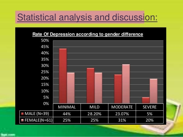AGE AND GENDER DIFFERENCES IN DEPRESSION