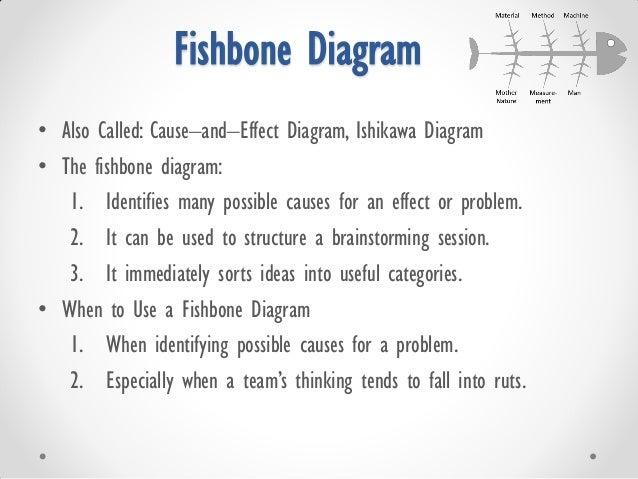 Basic qulaity toolstechniques workshop for process improvement fishbone ccuart Choice Image