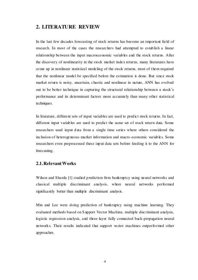 literature review on money market