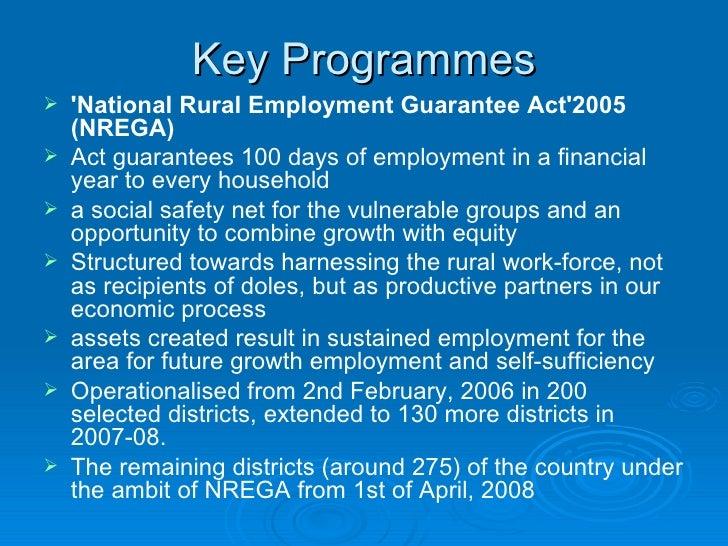 rural employment in india essay The national rural employment guarantee act (nrega) - poverty essay example the national rural employment guarantee act (nrega.