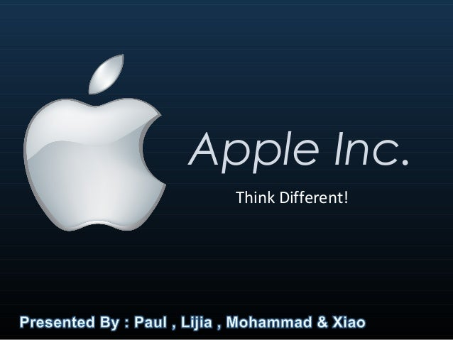 analysis of apple advertising think different Text and performance quarterly vol 21, no 3, july 2001, pp 202-219 the force of callas' kiss: the 1997 apple advertising campaign, think different.