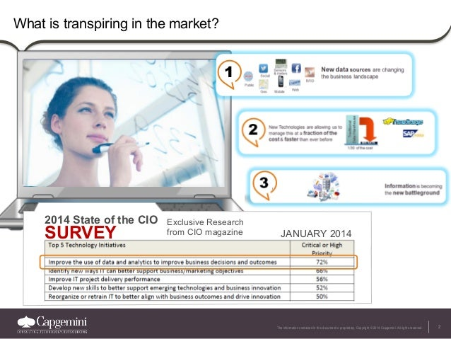 2The information contained in this document is proprietary. Copyright © 2014 Capgemini. All rights reserved. What is trans...