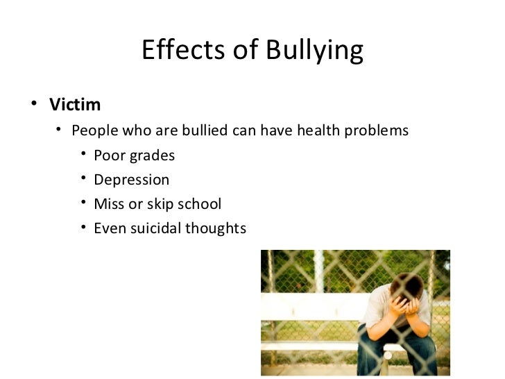 Bullying statistics and facts