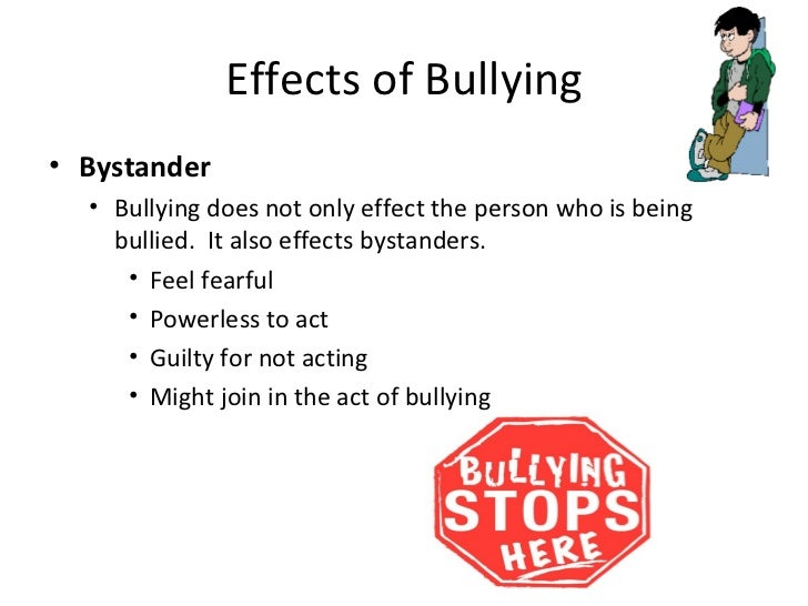 Long-term effects of bullying