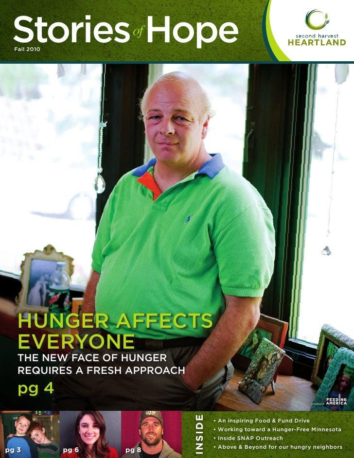 Second Harvest Heartland - Newsletter - Fall 2010