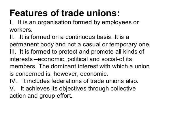 what are trade unions essay Essays, term papers, book reports, research papers on economics free papers and essays on trade unions we provide free model essays on economics, trade unions reports, and term paper samples related to trade unions.