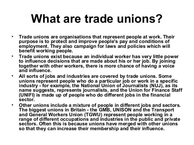 Trade Union In Indian Context