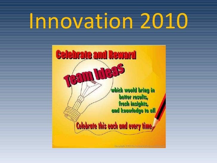 Innovation 2010