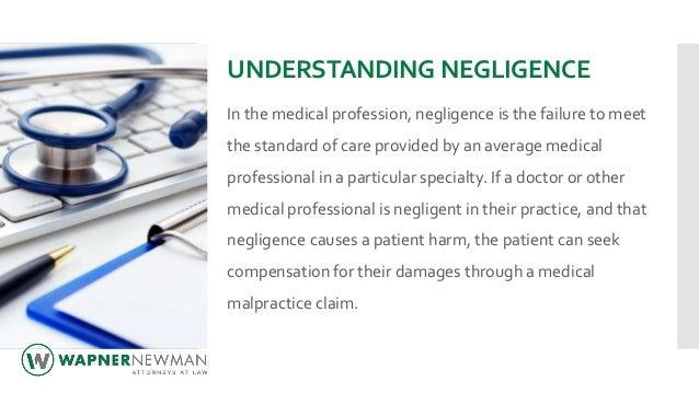 Medical Malpractice 101 Slide 2