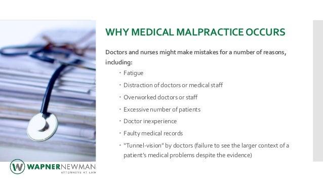 Medical Malpractice 101 Slide 3