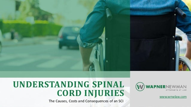 UNDERSTANDING SPINAL CORD INJURIES The Causes, Costs and Consequences of an SCI www.wnwlaw.com