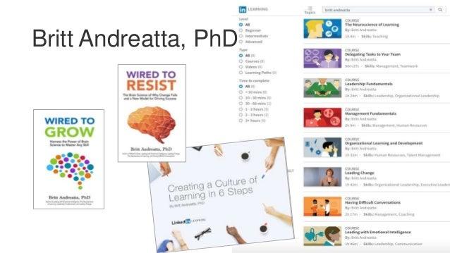 Britt Andreatta, PhD