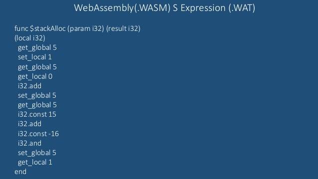 Web assembly with PWA