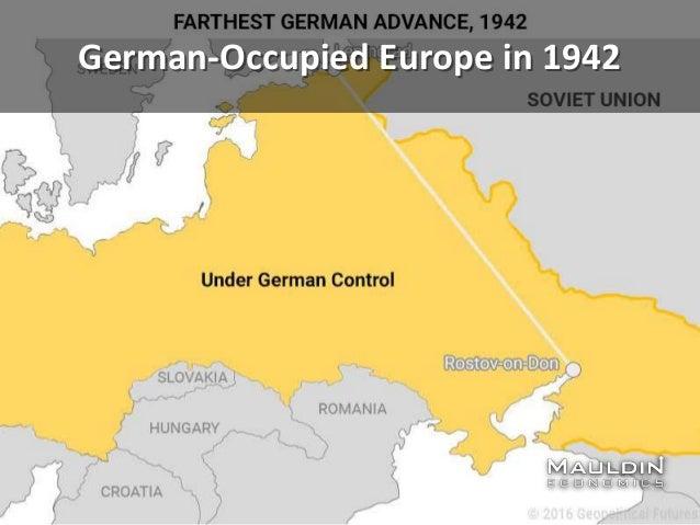 German-Occupied Europe in 1942